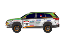 Новая модель Outlander PHEV примет участие  в Asia Cross-Country Rally – 2015